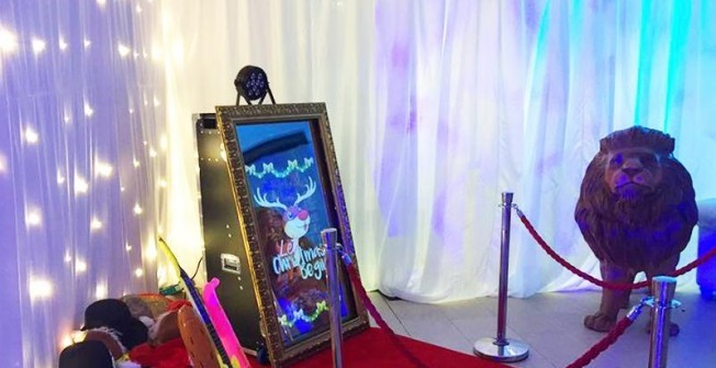 Magic Mirror Photo Booth in Fox Hatch